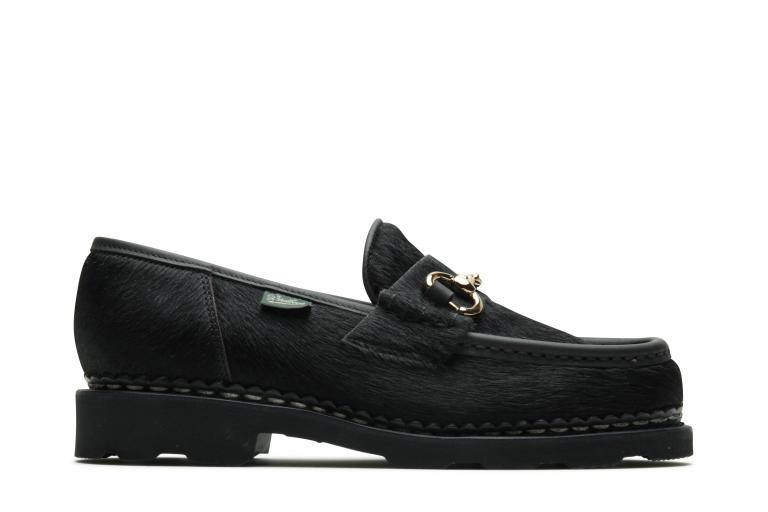 Orsayti full pl Tout poils noir - Genuine rubber sole