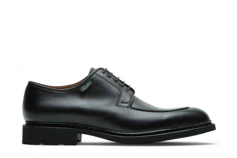 Prevert gd taille Lisse noir - Genuine rubber sole