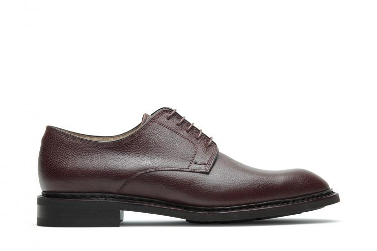 Proust Grainé écorce - Genuine rubber sole with leather/rubber heel
