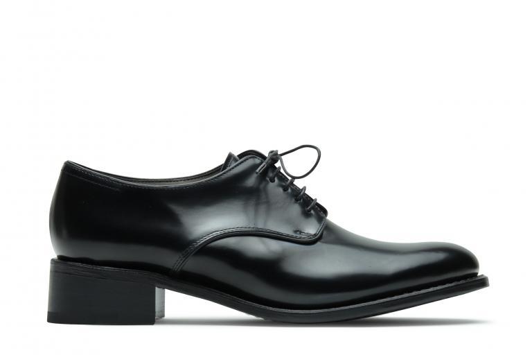 Saxo Gloss noir - Genuine rubber sole